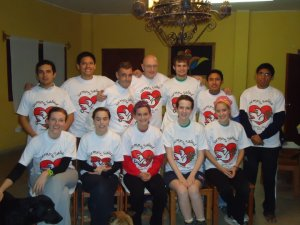 Volunteers and hosts: Hogar de Ancianos