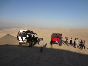 A visit to the sand dunes in Huacachina, Ica, Peru